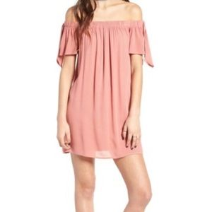 One Clothing off the shoulder shift dress 9279